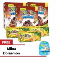 Buy 3 Milna Todler Cheese & 3 Todler Puding Choco Free MIlna Doraemon