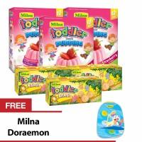 harga Buy 3 Milna Todler Cheese & 3 Todler Puding Straw Free Milna Doraemon Tokopedia.com