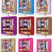 [ JUMBO ] RAK baju besar jumbo ( cloth rack with cover BIG SIZE)