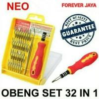 Obeng Set 32 in 1 untuk Handphone Laptop Komputer Tool Elektronik
