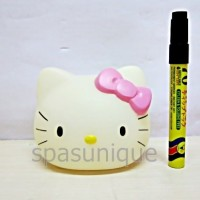 Celengan kepala Hello Kitty Glow loose