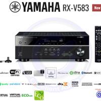 Yamaha RXV583 RXV 583 home theater amplifier sln denon marantz pioneer