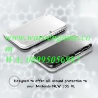 New HORI (CN) Transparent TPU Guard Cover for Nintendo New 3DS XL LL