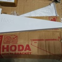 BRACKET AC OUTDOOR HODA 1/2 PK - 1 PK braket 1 set + dynabold 4 pcs