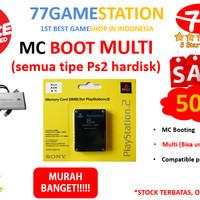 JUAL Memory Card boot mmc PS2 Boot MC BOOT MULTI Untuk Ps2 Hardisk B