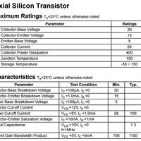 istimewa Transistor TR NPN S 9018 S9018