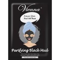 Jual Vienna Face Mask Peel Off Purifying Black Mud 15ml Murah