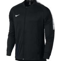 Jaket Bola Nike Original seri Mens Dry Squad Football Tracksuit Hitam