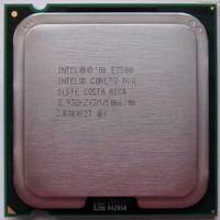 EXCLUSIVE Processor Intel Core2 Duo 2.93 Ghz E7500 Tray + Fan Ori LGA