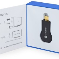 Jual Google Chromecast HDMI Streaming Media Player TV Dongle Hitam New Murah