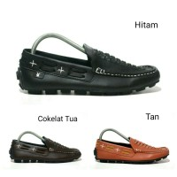 SEPATU SLIP ON MOCCASIN SIMPEL FORMAL PLAYBOY ALLIGATOR MOCASSIN
