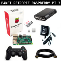 harga Paket Lengkap Retropie Raspberry Pi 3 Nintendo Snes Sega Playstation Tokopedia.com