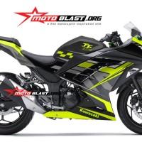 Decal stiker Ninja 250R Isle man TT