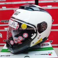 Helm Nolan N44 Evo Classic Metal White Multy model not Zeus Bell KYT