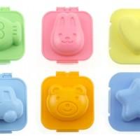 Cetakan Nasi Telur Bento Bear Rabbit Bintang Hati Ikan dan car / mobil