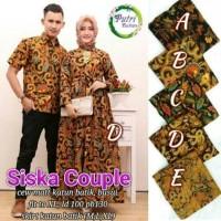 PUSAT GROSIR baju siska couple suami & istri katun batik