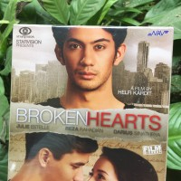 VCD ORIGINAL BROKENHEARTS - REZA RAHADIAN