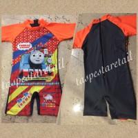 baju renang anak diving karakter thomas new