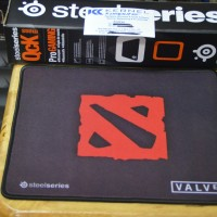 Mousepad KW Steelseries Medium Motif Dota 2 Speed Edition - Box