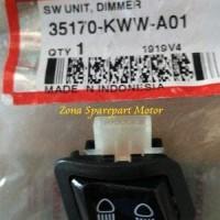 Saklar / Switch Dimmer AHM Revo 110 (KWW) B16 O527