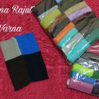bandana rajut 4 warna/ciput rajut 4 warna