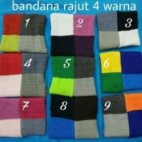 Ciput/Bandana Rajut 4 warna (tone)
