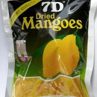 7D Dried mango (manisan mangga kering) 200 gram
