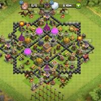 AKUN COC TH 8 MAX (clash of clans)
