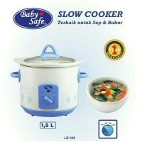 Baby safe slow cooker Besar 1,5Lt (Lb006)