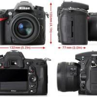 Nikon D7000 Kit 18-55mm VR Kamera DSLR - Black