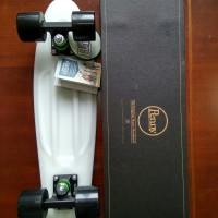 Penny Board 22 Casper :Glow in the dark Asli ORI pennyboard skate mini