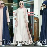 Gamis hijab murah : Afika Dress