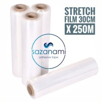 STRETCH FILM 30CM X 250M PLASTIK WRAPPING PLASTIC WRAP BUNGKUS BARANG