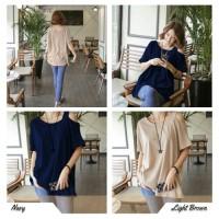 Baju Atasan Meghan/baju wanita jumbo/ baju wanita big size/ kaos jumbo