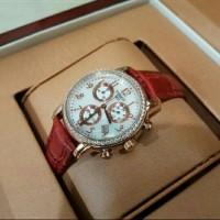 Jam tangan Tissot Barbie zhu red rose gold diamond murah GRATIS ONGKIR
