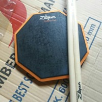 pad drum 8 inchi murmer bonus stick
