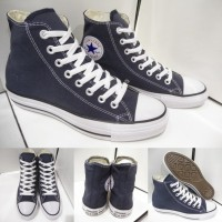 Sepatu Converse All Star Chuck Taylor Classics Canvas High Dark Blue