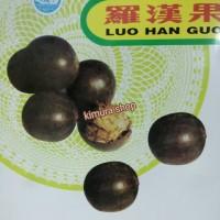 Buah Luo Han Guo Lohanguo Lou Luohan Asli Pereda Panas Dalam Alami