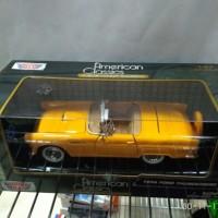 Motormax American Classics - 1956 FORD THUNDERBIRD Kuning 1:24
