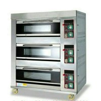 OVEN GAS PRIMAX PCH-10303 PEMANGGANG ROTI 3 DECK 6 TRAYS
