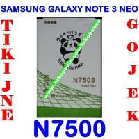 Baterai Samsung Galaxy Note 3 Neo N750 Double Power Rakki Panda