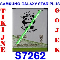 harga Baterai Samsung Galaxy Star Plus S7262 Double Power Rakki Panda Tokopedia.com