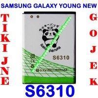 Baterai Samsung Galaxy Young New S6310 Double Power Rakki Panda