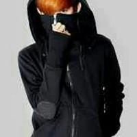 jaket ninja gaiden black sweater jaket varian warna fashion korea