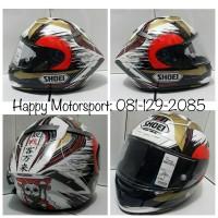 Helm Shoei X14 euro Marquez Motegi2 originalJapan size S M L XXL ready