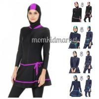 Baju Renang Muslimah Ukuran M, L dan XL Dewasa ES-ML-DW-203