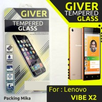 Anti Gores TEMPERED GLASS GIVER LENOVO VIBE X2 Murah