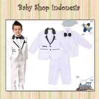 Jas Anak Murah Setelan Tuksedo Bayi Jas Bayi Baju Pesta Anak Putih