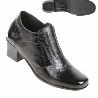 Sepatu Wanita Formal Kulit Boots tta 3237 Zeintin