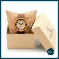 BOBO BIRD D18-2 women wooden watch / jam tangan kayu wanita